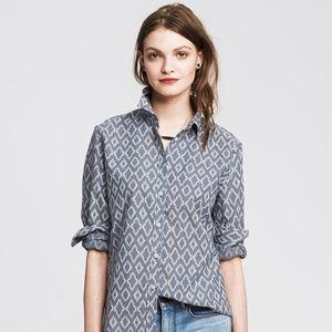 Banana Republic Soft Wash Women Shirt Size S
